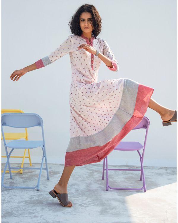 Sage tiered maxi dress 1
