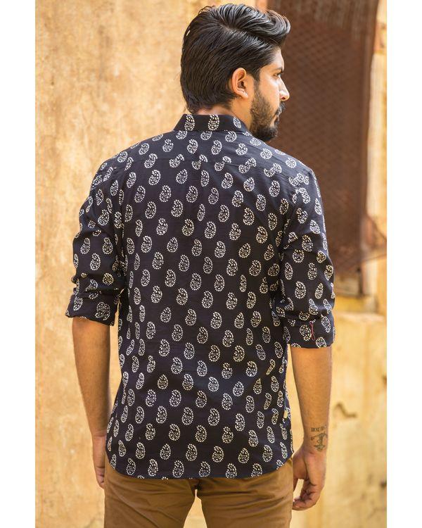 Black printed shirt 2
