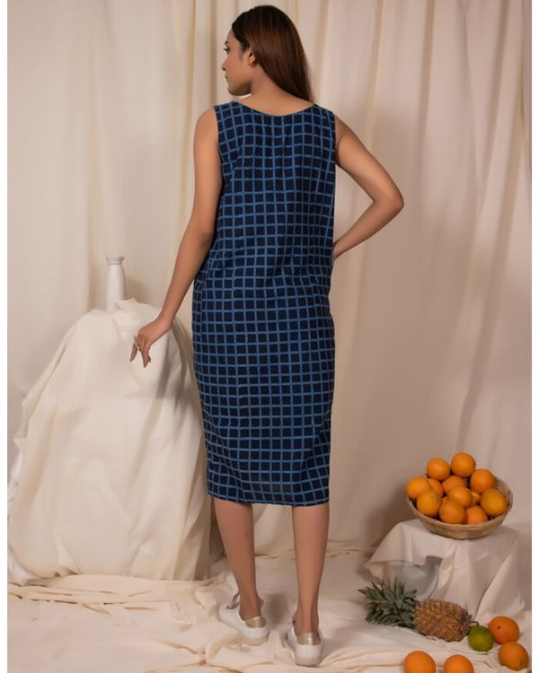 Moon melon cocoon dress with pockets 2