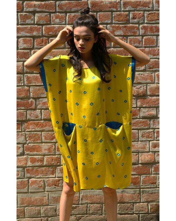 Yellow rectangular tunic 1