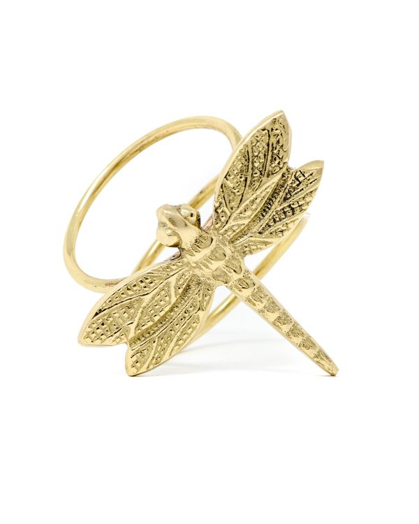 Vintage dragonfly napkin rings - Set Of Four 2