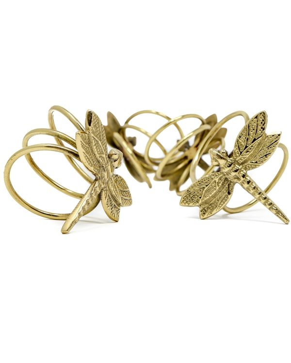 Vintage dragonfly napkin rings - Set Of Four 1