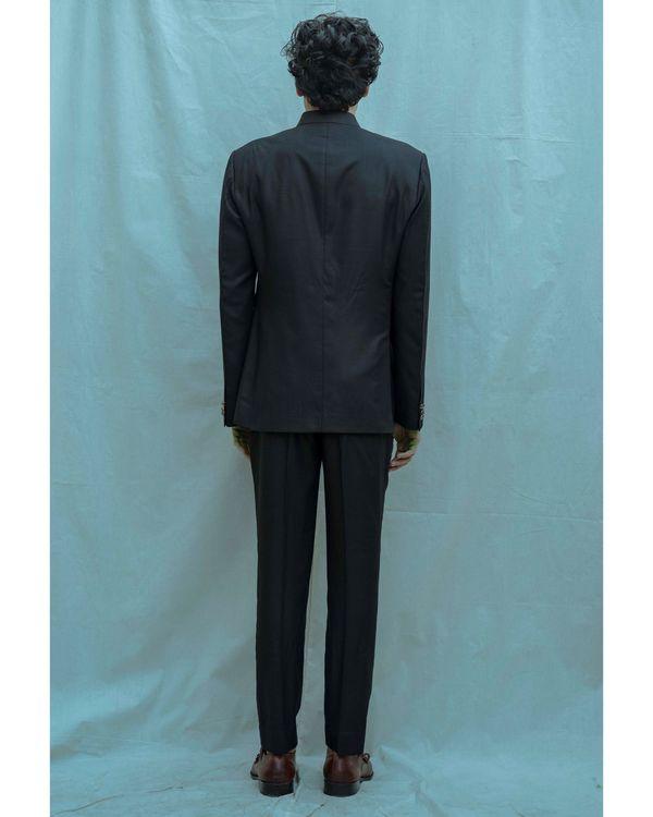 Black bandgala and white shirt with pants - Set Of Three 2