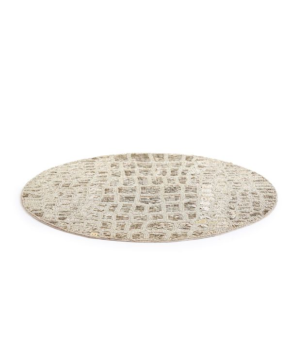 Hand beaded sequined table mat 2