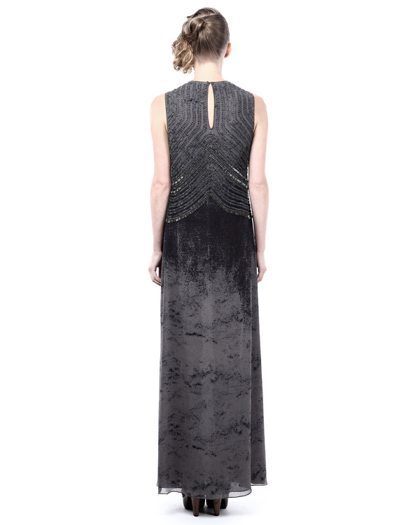 Marble shaded evening dress 2