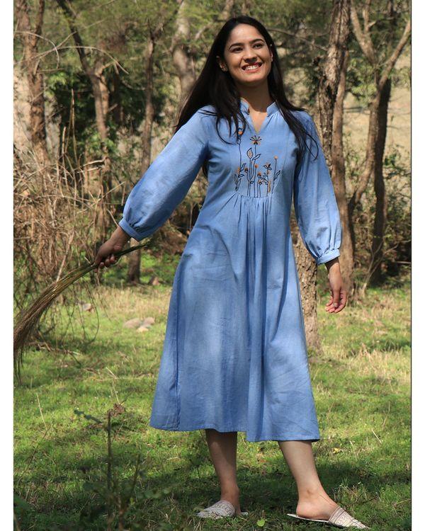 Chambray lazy dress 2