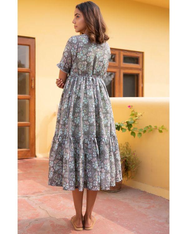 Botanic jacket dress with a slip - set of two 3