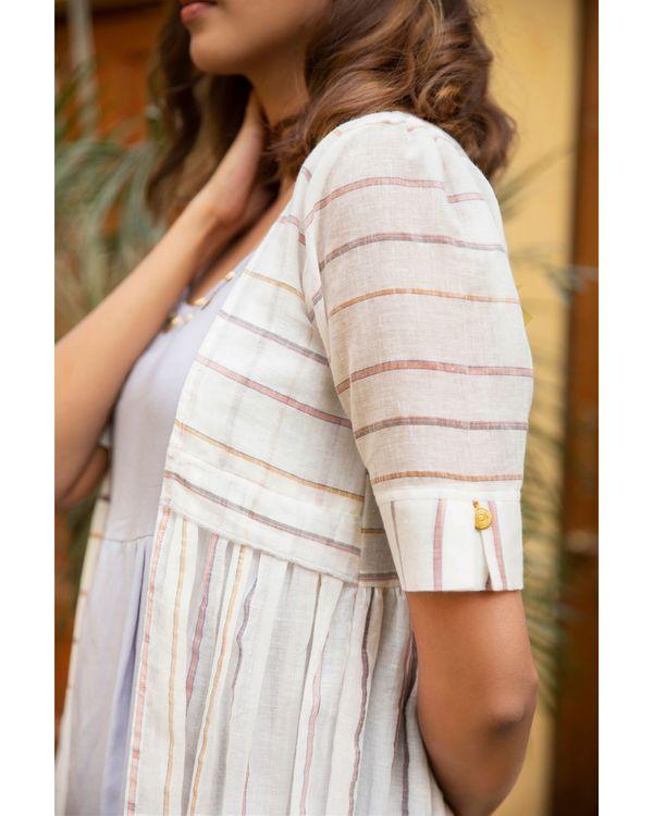 Lilac stripe jacket dress - set of two 2