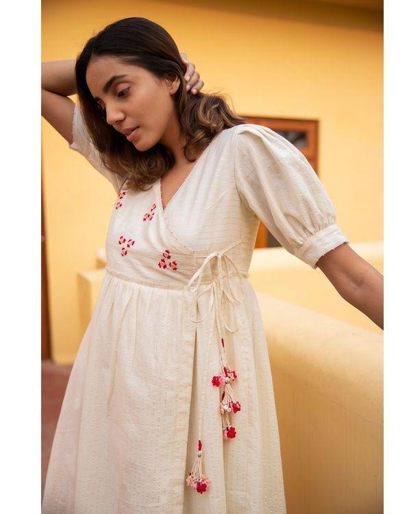 Floret stripe dress 2