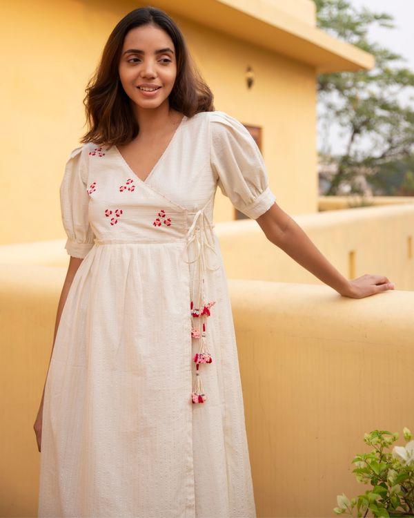 Floret stripe dress 1