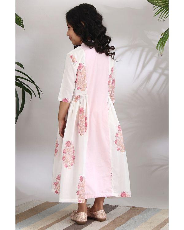 Panelled kantha dress 4