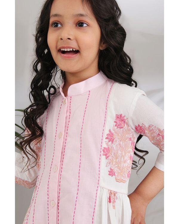Panelled kantha dress 3