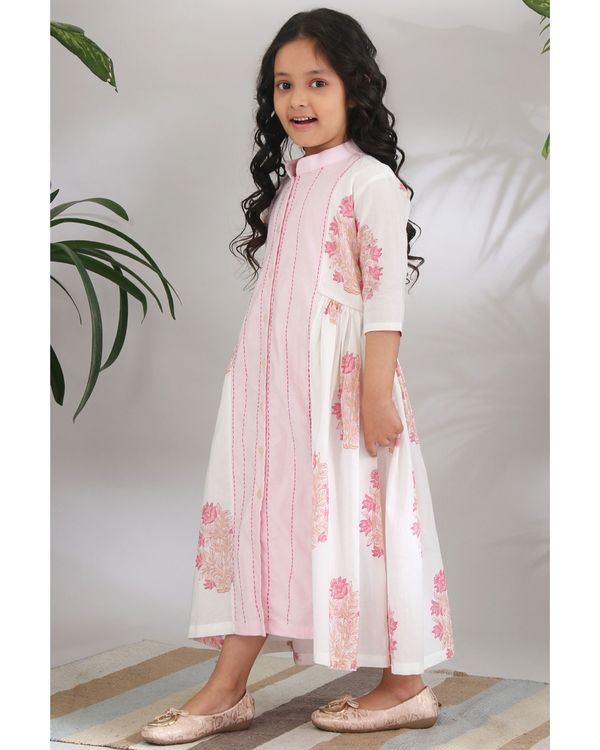 Panelled kantha dress 2