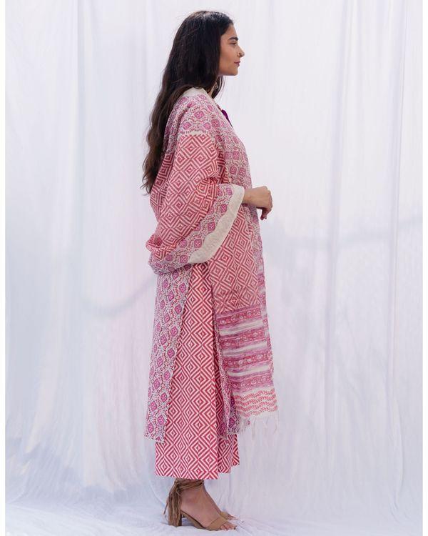 Chakor lace suit set - set of three 2
