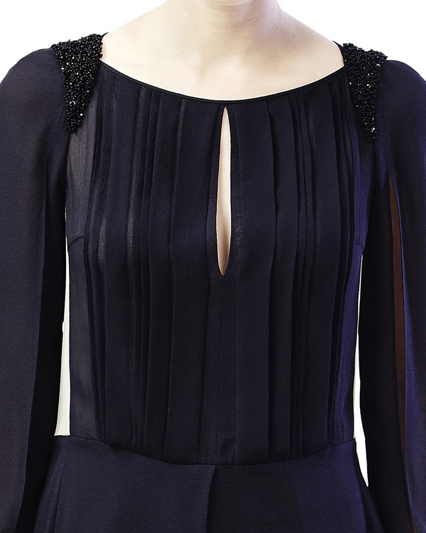 Front pleated top 1