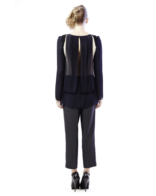 Front pleated top 2