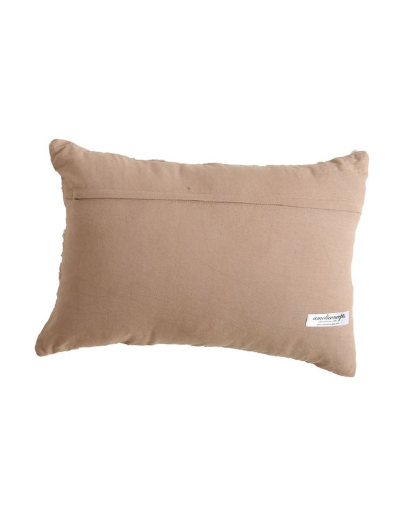 Cord embroidered cushion cover 2