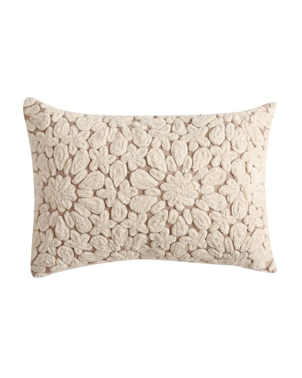 Cord embroidered cushion cover 1