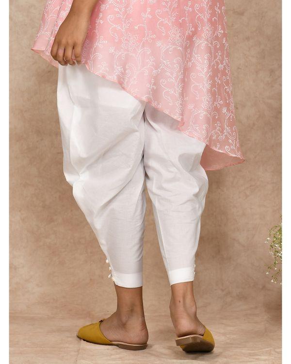 White dhoti pants 1
