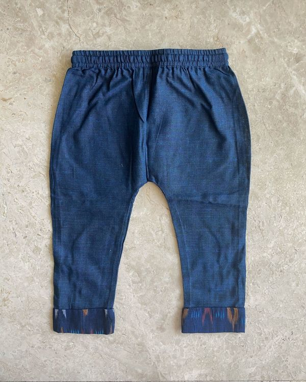 Indigo malkha cotton pants 1