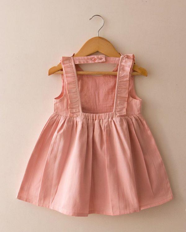 Pink pin-tuck dress 2