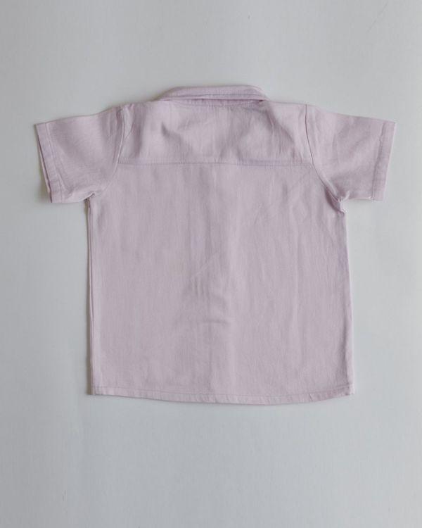 Lavender organic cotton shirt 1
