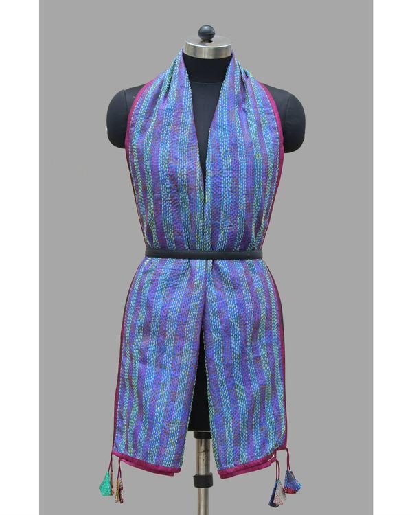 Vine vintage silk stole 1