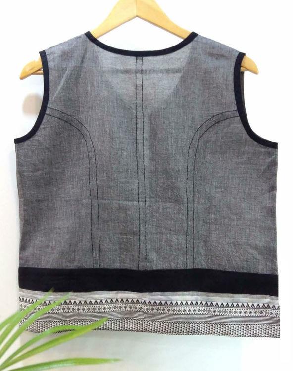 Grey bolero jacket 1