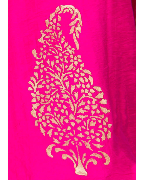 Pink angrakha dress 3