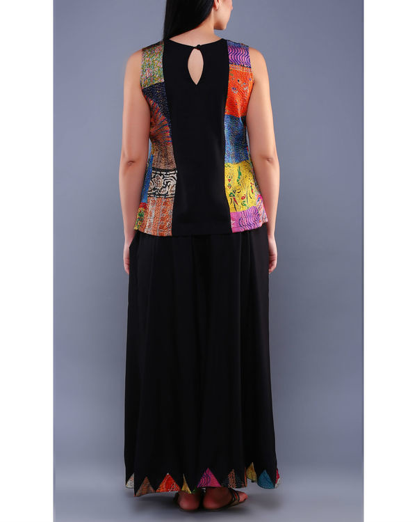 Set of kantha top with palazzos 1