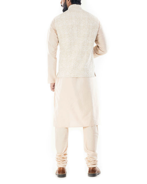 Cream dori embroidery jacket 2