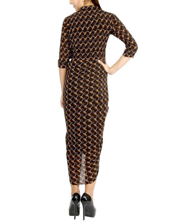 Black dhoti dress 2