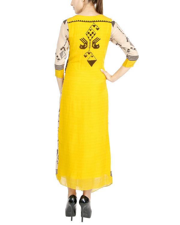 Egyptian print dress 2