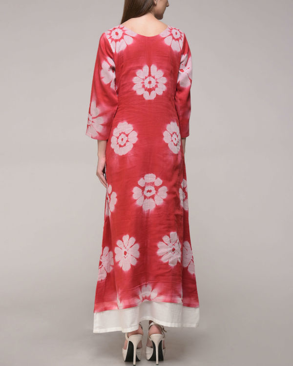 Red floral maxi 3