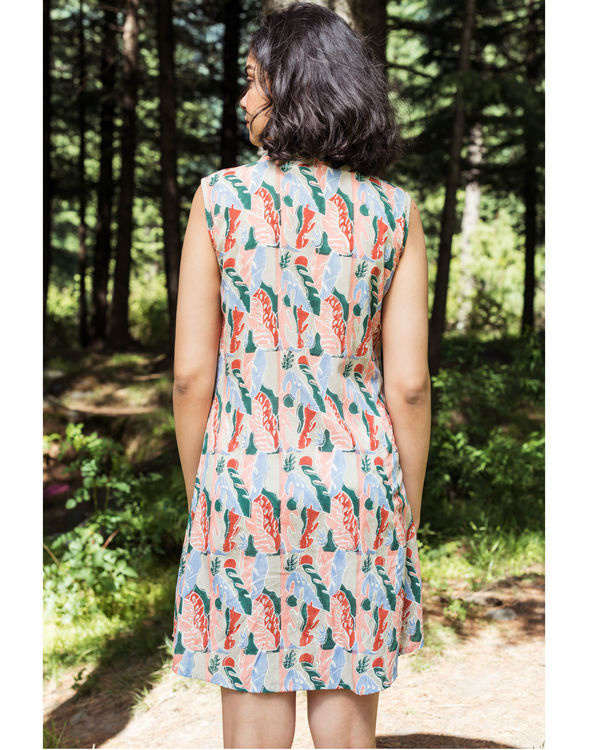Rainforest blush dress 1