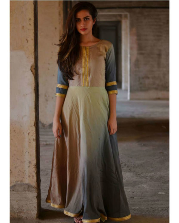 Shades of grey maxi dress 1