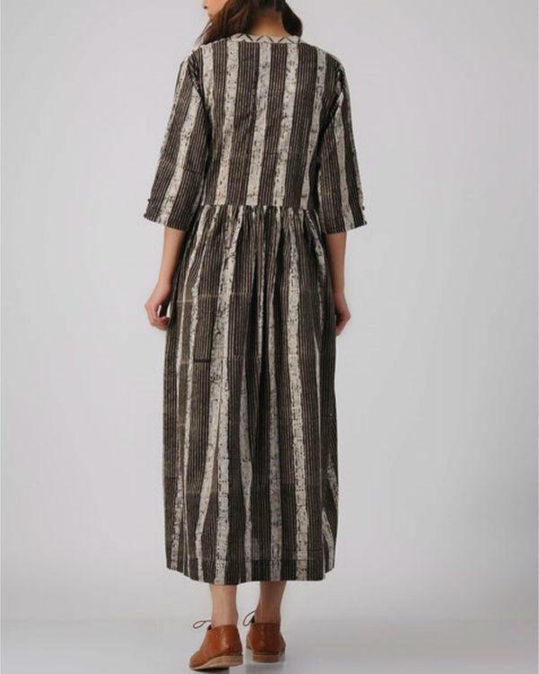 Pattern panelled dress 2