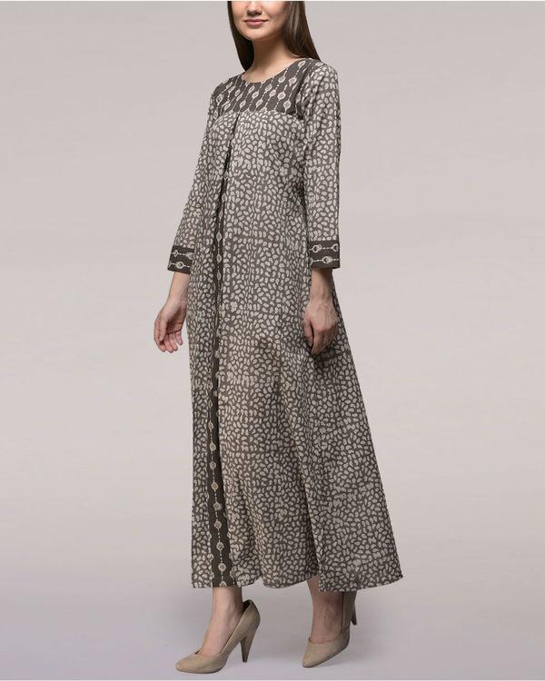 Ash black dabu cotton dress 3