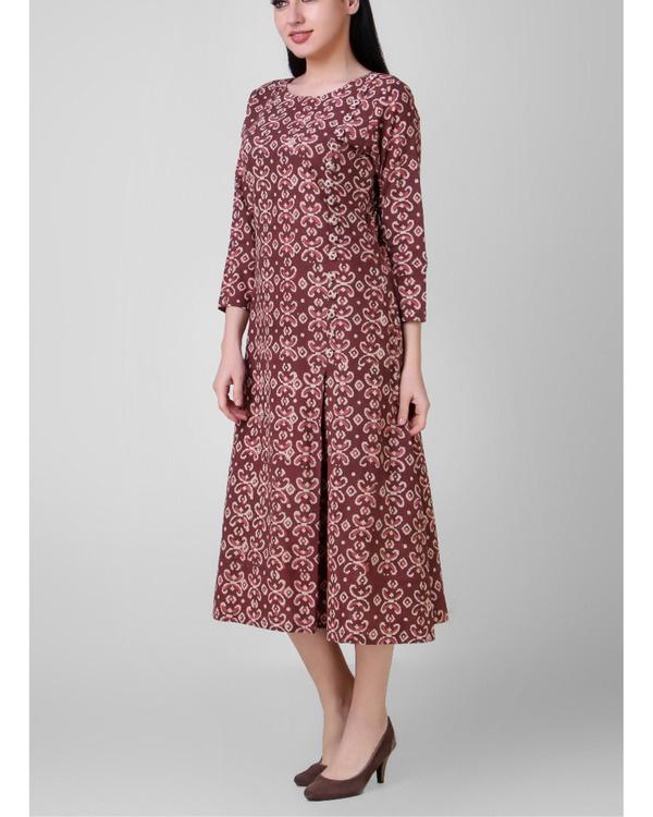 Dabu side pleated dress 1