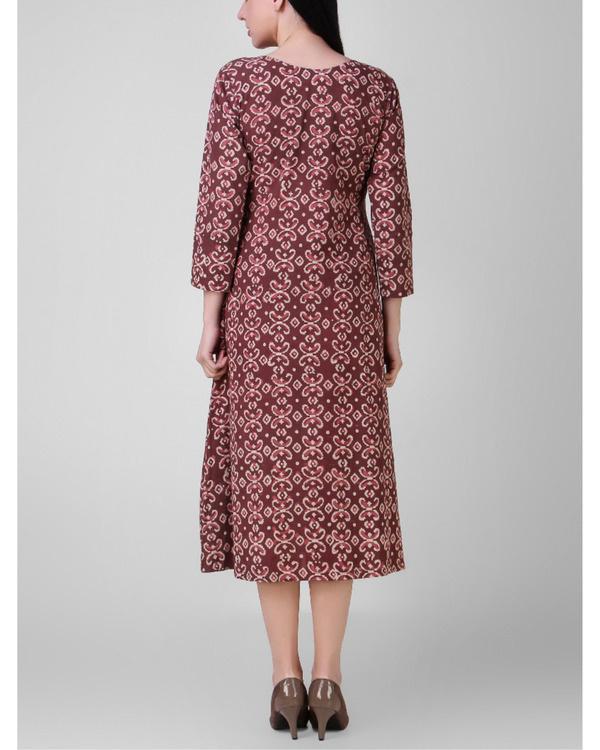 Dabu side pleated dress 2