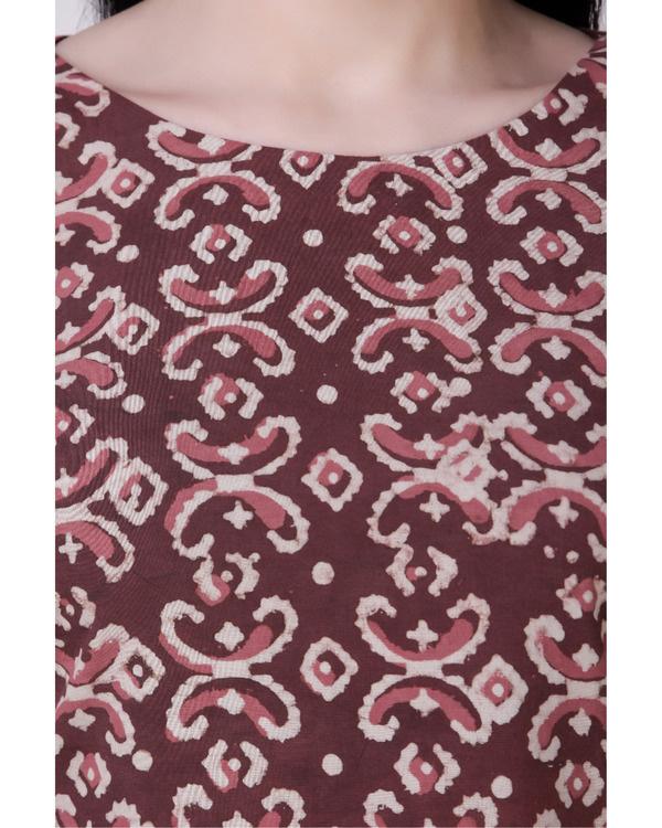 Dabu side pleated dress 3