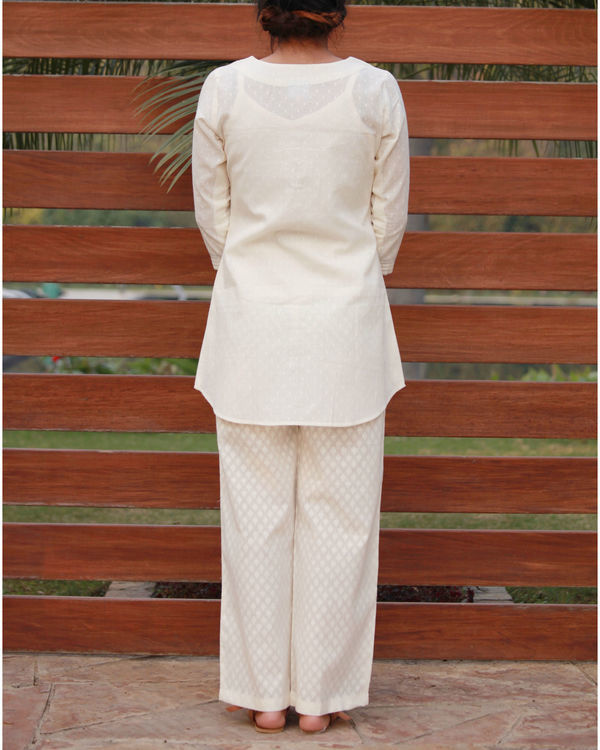 Long flared cotton top 2
