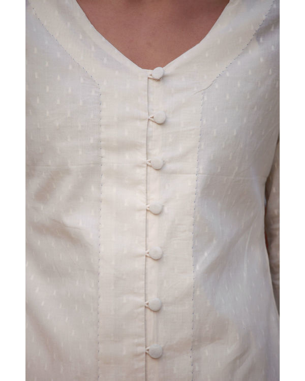 Long flared cotton top 3